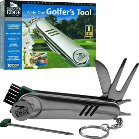 Journey'S Edge 75-4732 Journey'S Edge All-In-One Stainless Steel Golfer'S Tool - Peazz.com