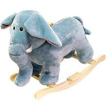 Happy Trails 80-76Elephant Happy Trails Elephant Plush Rocking Animal - Peazz.com