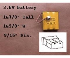 Battery for FF915 BATT-3AA-U - Peazz.com