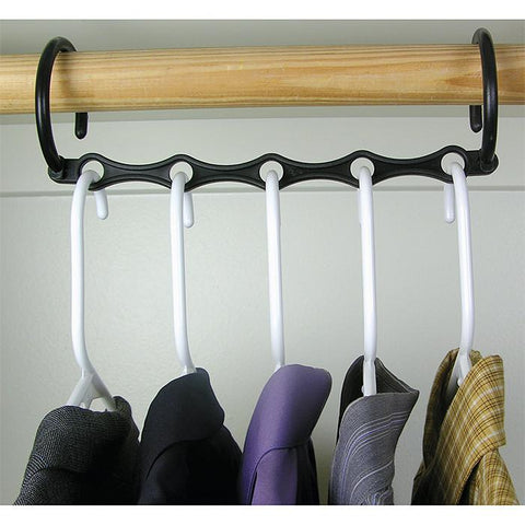 Trademark Commerce 82-5523-2 Set of 10 Magic Hangers - As Seen On T.V. - Peazz.com