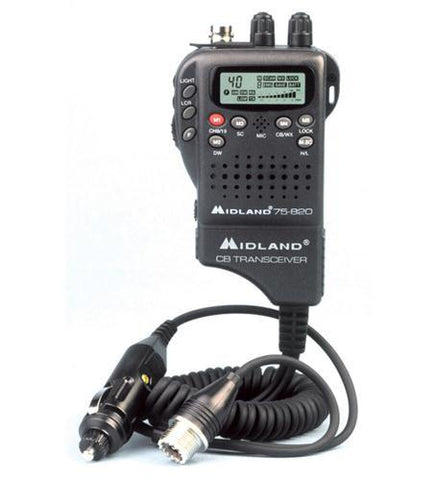 MIDLAND RADIO MID-75-822 Handheld Mobile CB w/ Adapter - Peazz.com