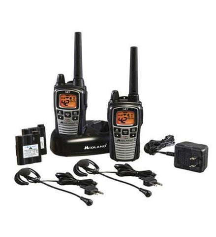 MIDLAND RADIO MID-GXT895VP4 GMRS 2-Way Radio (Up to 36 miles) - Peazz.com
