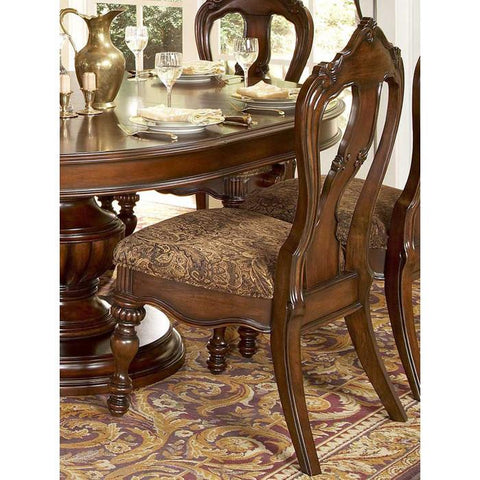 Homelegance Prenzo Side Chair with Back 1390S - Peazz.com - 1