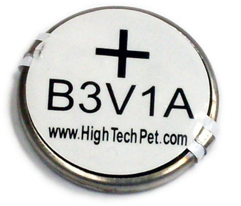 High Tech Pet B-3V1A-1P Ultrasonic Collar Battery, for MS-4 and MS-5 Pet Collars 1-Pk - Peazz.com