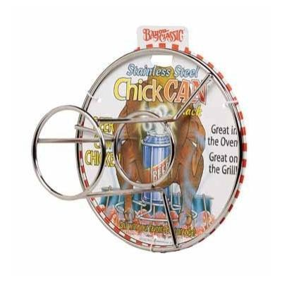 Bayou Classic Stainless Steel Chickcan - Peazz.com