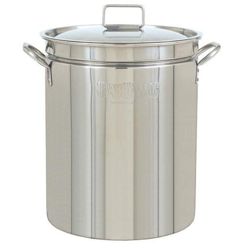 Bayou Classic 102 Qt Stainless Steel Stock Pot - Peazz.com