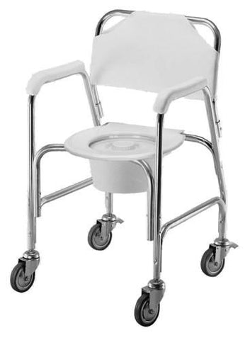 Harvy Shower Chair with Wheels - Peazz.com