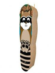 Imperial Cat Hanging Scratch 'n Shapes Racoon Scratcher - Peazz.com