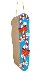 Imperial Cat Holiday Scratch 'n Shapes Hanging Christmas Candy Cane Scratcher - Peazz.com