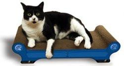 Imperial Cat Animal Scratch 'n Shapes Sofa Scratcher Regular Sofa, Large - Peazz.com