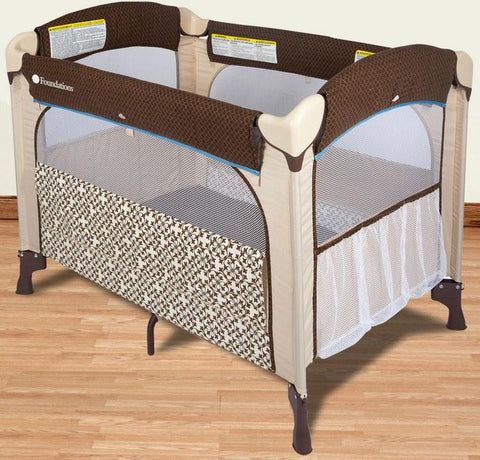 Foundations Elite™ Portable Crib - Verona - 1551127 - Peazz.com