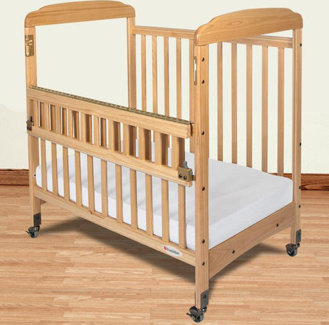 Foundations Serenity Compact SafeReach™ w/ Adjustable Mattress Board, Clearview - Natural - 1742040 - Peazz.com