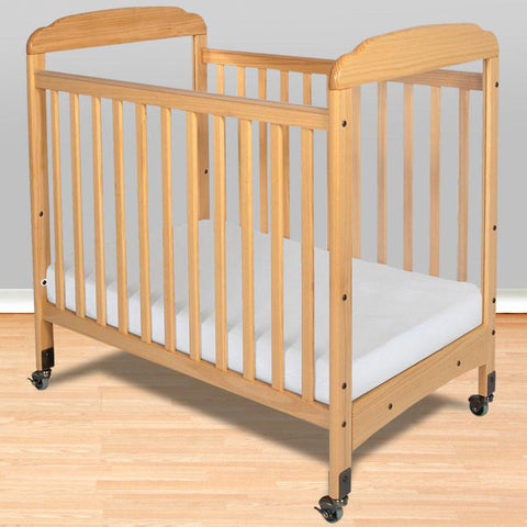 Foundations Serenity Compact SafeReach™ w/ Adjustable Mattress Board, Mirror - Natural - 1743040 - Peazz.com