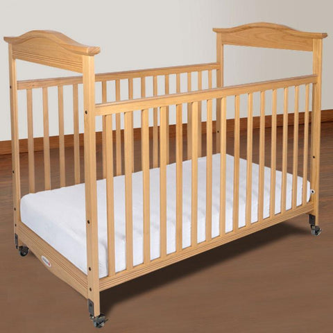 Foundations Biltmore Full-Size, Fixed-Side w/ Adjustable Mattress Board, Clearview (Mattress Not Included) - Natural - 1812040 - Peazz.com