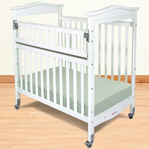 Foundations Biltmore Compact SafeReach™ w/ Adjustable Mattress Board, Clearview - White - 1842120 - Peazz.com