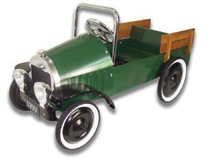 Jalopy Pedal Pickup Truck - Green PUG - Peazz.com