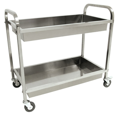 Bayou Classic Stainless Steel Serving Cart - Peazz.com