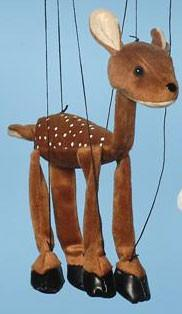 "16"" Deer Marionette Small - Peazz.com"