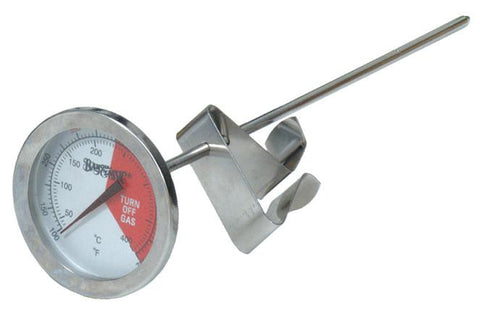 "Bayou Classic Stainless Steel Thermometer With 5"" Stem - Peazz.com"