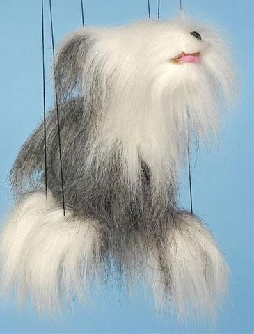 "16"" Sheepdog Marionette Small - Peazz.com"
