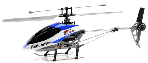 JP Commerce DH-9116-BLUE 2.4Ghz 4ch Double Horse 9116 RC Helicopter with Gyro - Blue - Peazz.com