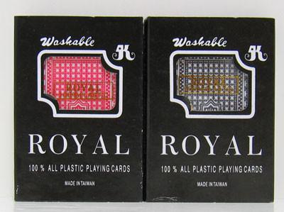 Pair of Royal Plastic Playing Cards - Peazz.com