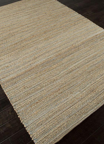 Jaipur Rugs RUG113805 Naturals Solid Pattern Cotton/ Jute Taupe/Gray Area Rug ( 9x12 ) - Peazz.com