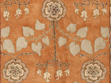 Jaipur Rugs RUG103512 Hand-Tufted Arts and Craft Pattern Wool Orange/Green Area Rug ( 5x8 ) - Peazz.com - 2