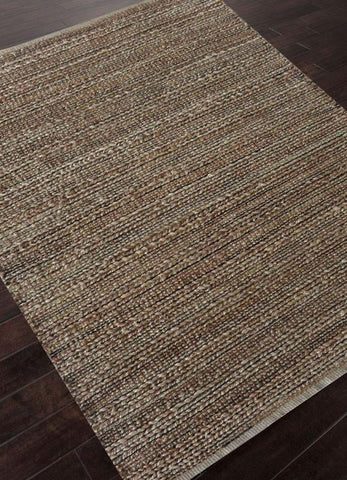 Jaipur Rugs RUG113583 Naturals Solid Pattern Cotton/ Jute Taupe/Gray Area Rug ( 3.6X5.6 ) - Peazz.com