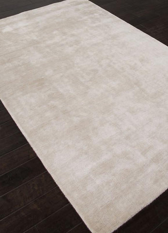 Jaipur Rugs RUG112877 Solids/ Handloom Solid Pattern Bamboo Silk Ivory/White Area Rug ( 3.6X5.6 ) - Peazz.com