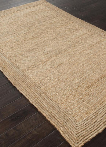 Jaipur Rugs RUG112488 Naturals Textured Jute Ivory/White Area Rug ( 4X6 ) - Peazz.com