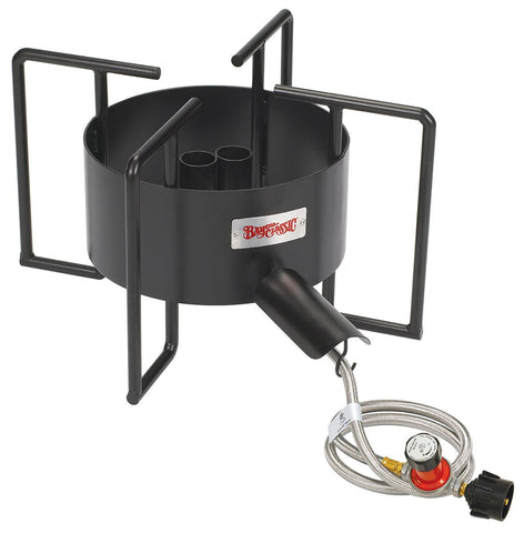 Bayou Classic Double Jet Outdoor Cooker With Gas Hose Guard - Peazz.com