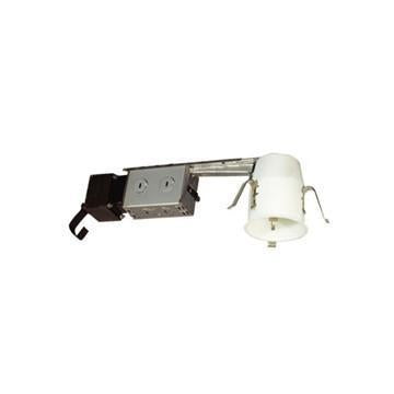 "Jesco Lighting LV3000R 3"" Low Voltage Non-IC Housing for Remodeling - Peazz.com"