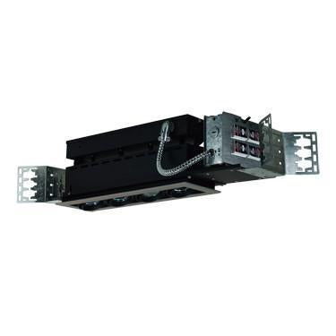 Jesco Lighting MMG1650-4ESB 4-Light Linear New Construction (Low Voltage) Includes 120V Lightech Electronic Transformer - Peazz.com