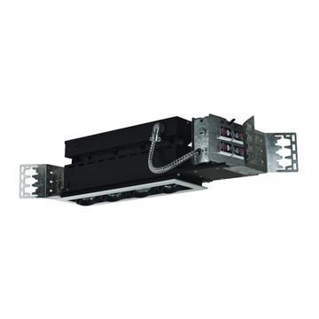 Jesco Lighting MMG1650-4EWB 4-Light Linear New Construction (Low Voltage) Includes 120V Lightech Electronic Transformer - Peazz.com
