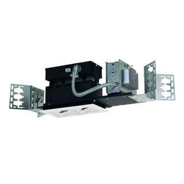 Jesco Lighting MMGMH1639-2EAW 2-Light Linear New Construction (Metal Halide) Includes 120V Electronic Ballast - Peazz.com