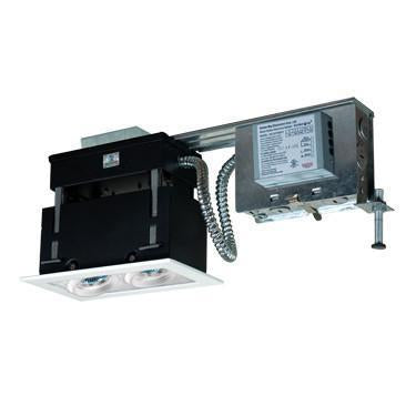 Jesco Lighting MMGRMH1639-2EAW 2-Light Linear Remodel (Metal Halide) Includes 120V Electronic Ballast - Peazz.com