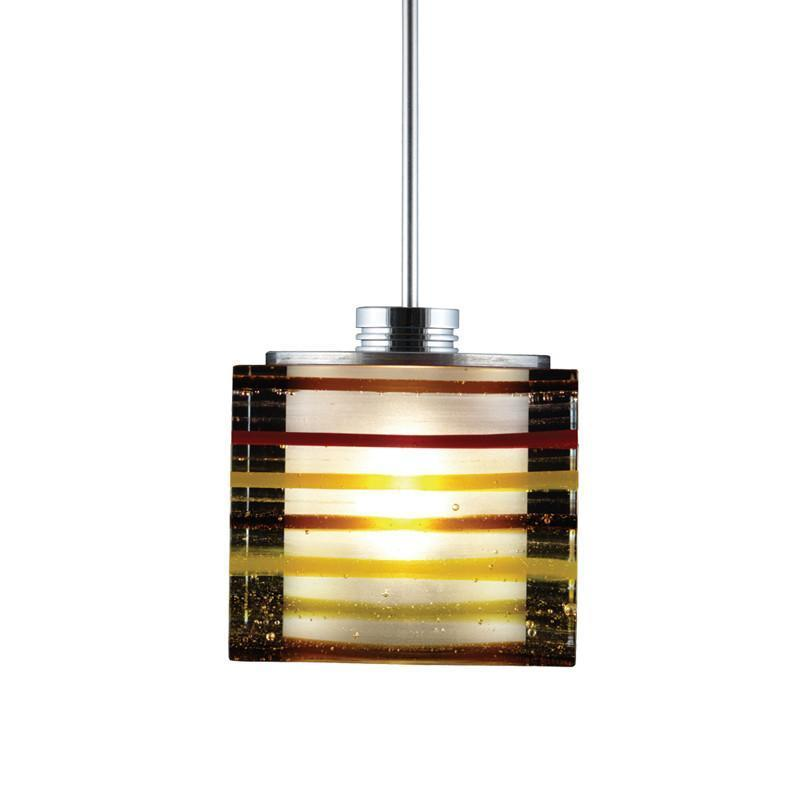 Jesco Lighting QAP701-AM/CH Quick adapt low voltage pendants-Qubert-Phuzed / Boiled Cube