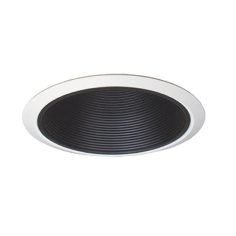 "Jesco Lighting RLT-803-240-T-BK 8"" Standard Step BaffleTrim - Peazz.com"