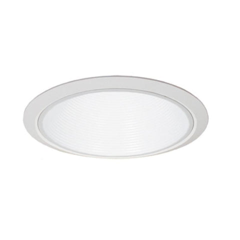 "Jesco Lighting RLT-803-240-T-WH 8"" Standard Step BaffleTrim - Peazz.com"