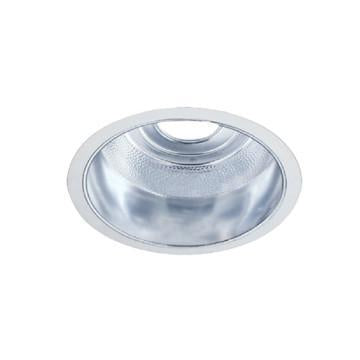 "Jesco Lighting TM890CHWH 8"" Commerical Horizontal Compact Fluorescent open reflector Trim - Peazz.com"