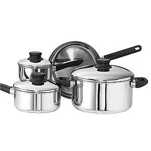 Kinetic 12000 Kitchen Basics 7 Piece Set Stainless Steel - Peazz.com