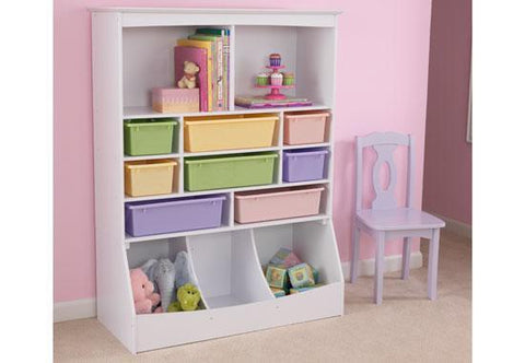 KidKraft 14980 Wall Storage Unit White - Peazz.com
