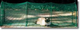 Kittywalk Deck & Patio Cat Enclosure (KW100P) - Peazz.com