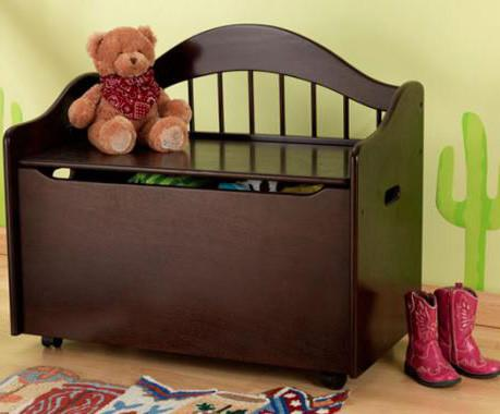KidKraft 14156 Limited Edition Toy Box - Espresso - Peazz.com