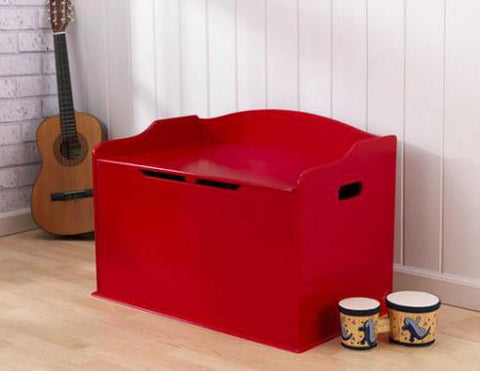 KidKraft 14961 Austin Toy Box- Red - Peazz.com