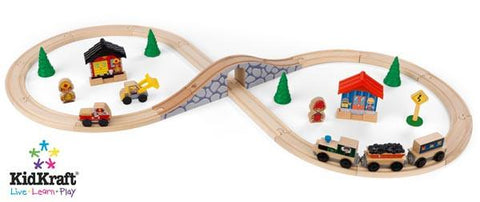 KidKraft Figure 8 Train Set 17822 - Peazz.com