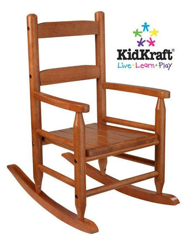 KidKraft 2-Slat Rocker - Honey 18123 - Peazz.com