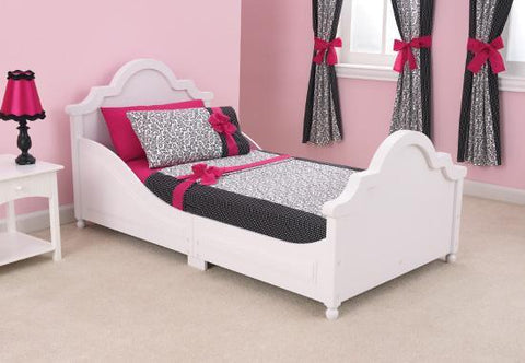 KidKraft 86941 Raleigh Toddler Bed White - Peazz.com