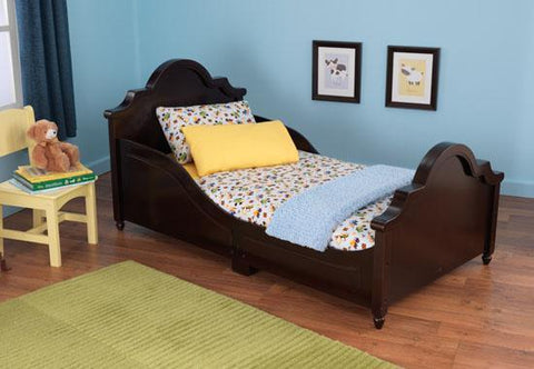 KidKraft 86943 Raleigh Toddler Bed Espresso - Peazz.com